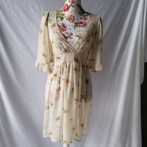 Sheer Betsey Johnson x Urban Outfitters dress